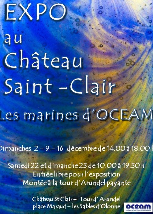 les marines d'OCEAM affiche